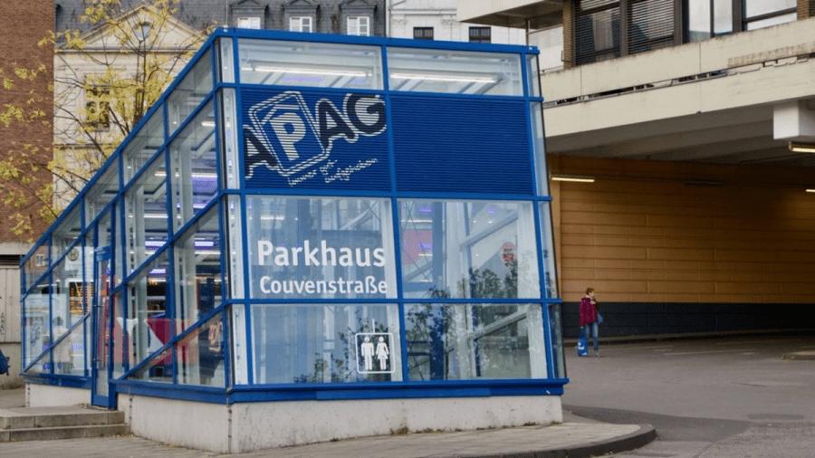 Parkhaus Bushof Aachen